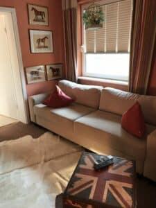 Couch bereich Kaminzimmer