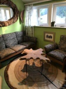Couchbereich Baumzimmer