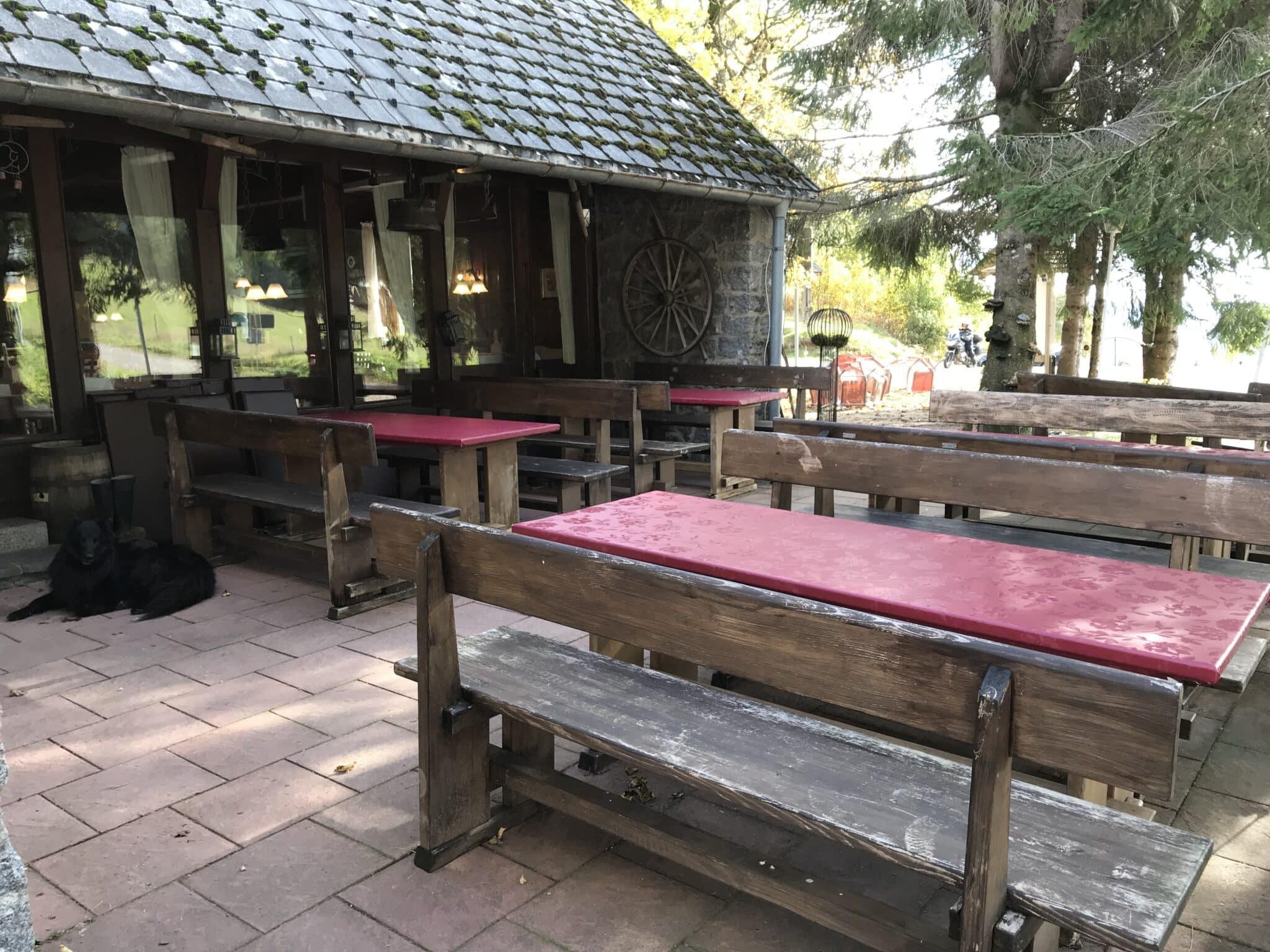Außenbereich Waldhotel-Auerhahn